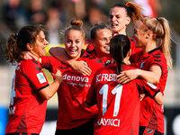 SC-Frauen schlagen Wolfsburg und sind erstmals Tabellenführer