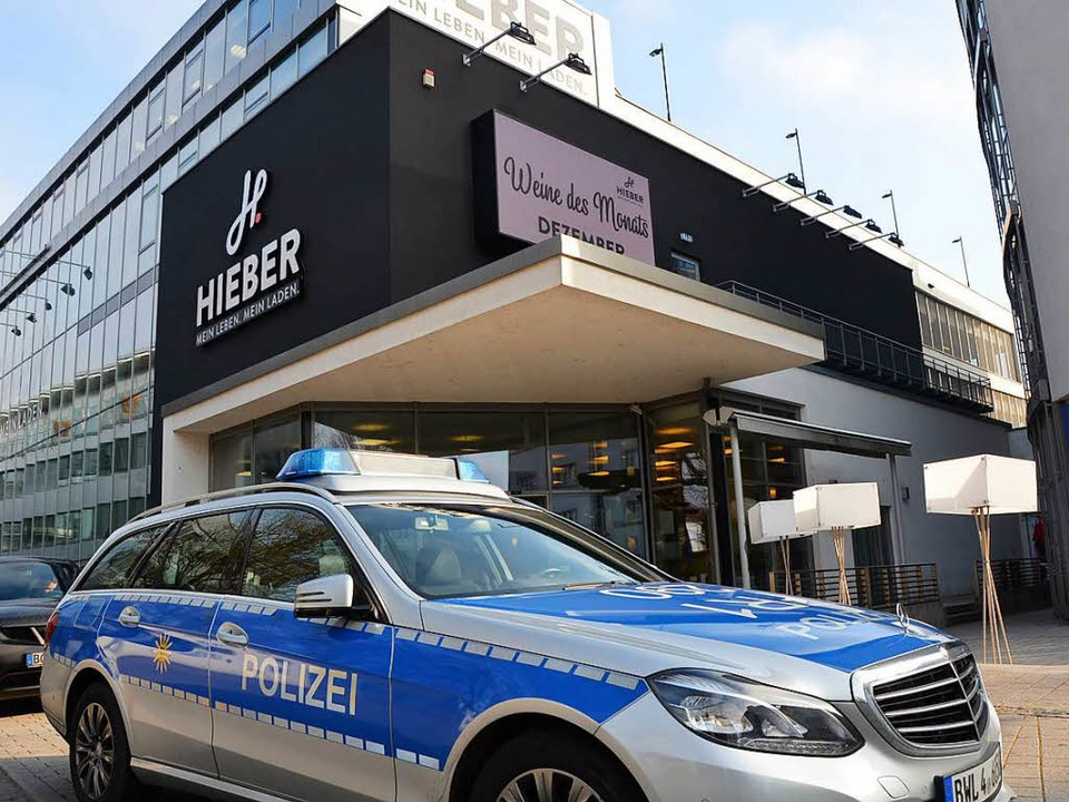 In den Hieber-Markt in Rheinfelden wurde in der Nacht auf Samstag eingebrochen.  | Foto: Peter Gerigk
