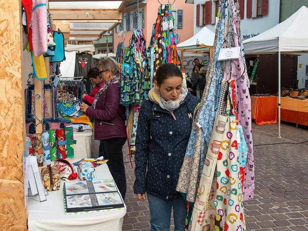 Impressionen vom Martinimarkt in der barocken Altstadt Ettenheims