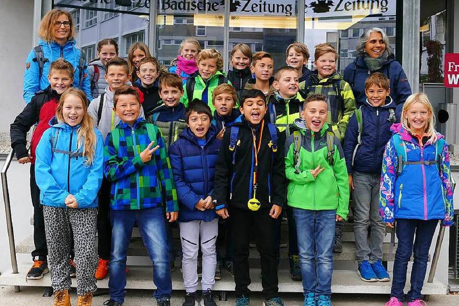 Klasse 4 der Sonnenbergschule in Ballrechten-Dottingen (Foto: Paul Wortelkamp)