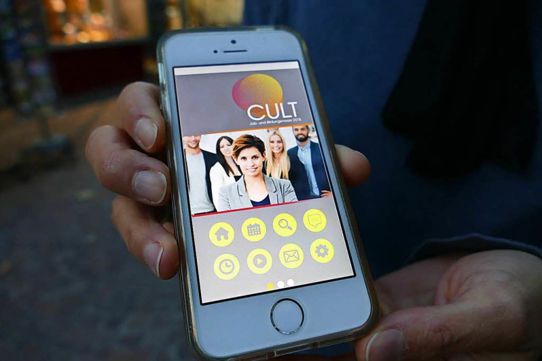 So soll die  App aussehen.  | Foto: Jannik juergens