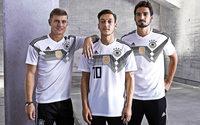 Grau-weiße Zacken fürs Fußball-Nationalteam