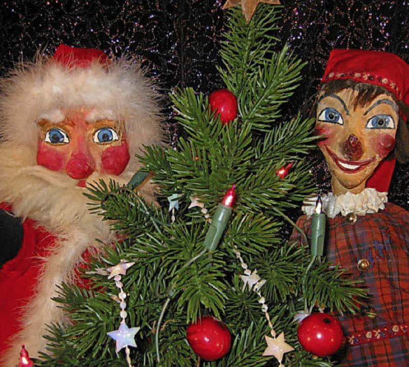 Kasper und der Weihnachtsmann     Foto: PR