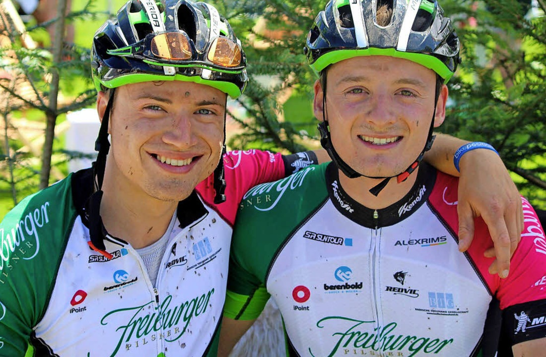 Trainingskumpel: Simon Gutmann (links)...schaft zum erweiterten Favoritenkreis.  | Foto: zvg