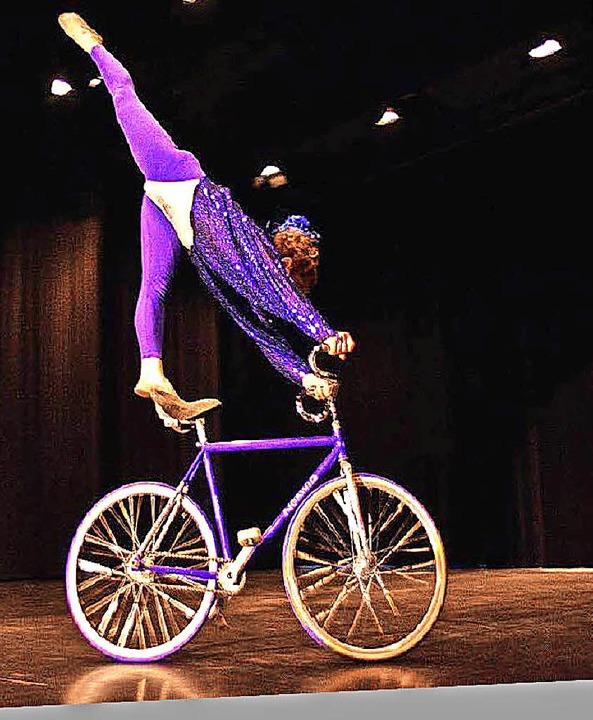 Kunstradfahrerin Ines Brunn  | Foto: Privat