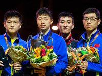 Chinas Tischtennis-Rebellen spielen bei den German Open