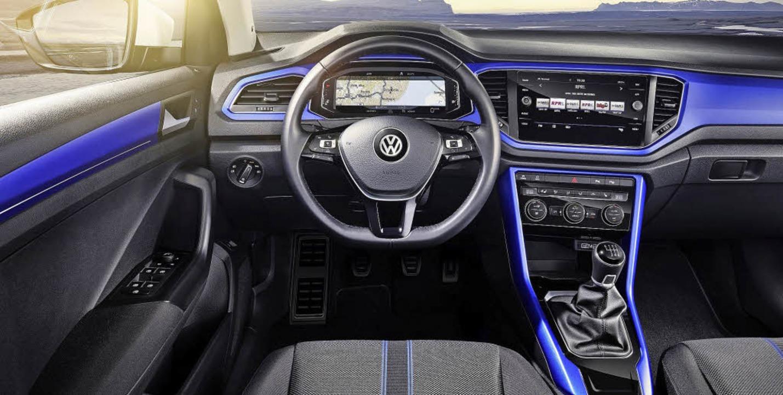 Abmessungen ähnlich wie ein Golf &#821... Das Cockpit pflegt einen neuen Stil.   | Foto: werksfotos