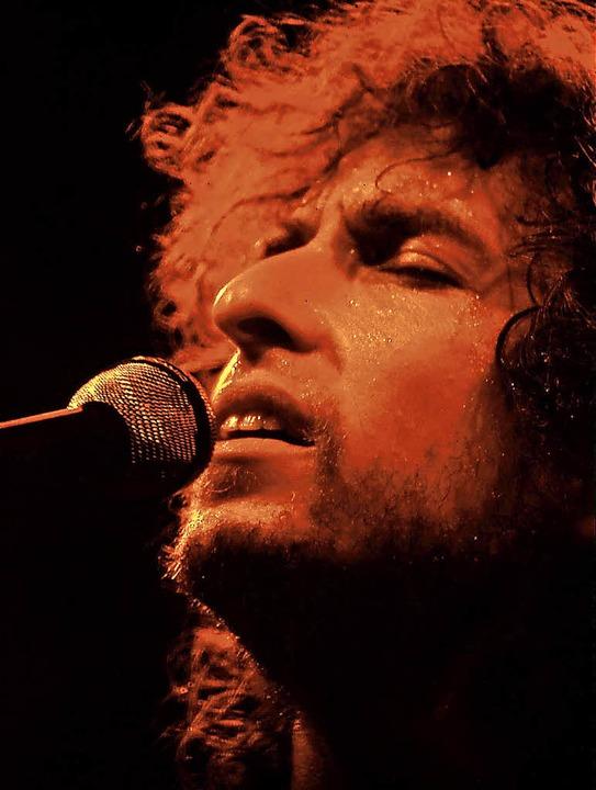 Die Bühne wurde ihm zur Kanzel: Bob Dy...er Bekehrung zum christlichen Glauben   | Foto: Howard Alk