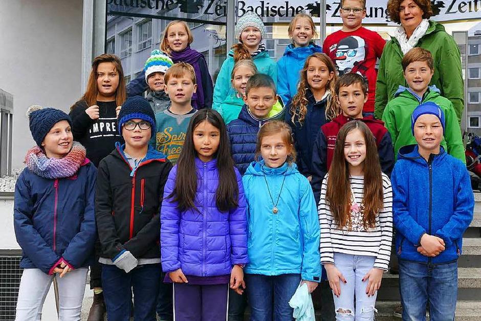 Klasse 4 der Michaelschule in Oberried (Foto: Maurice Jean)