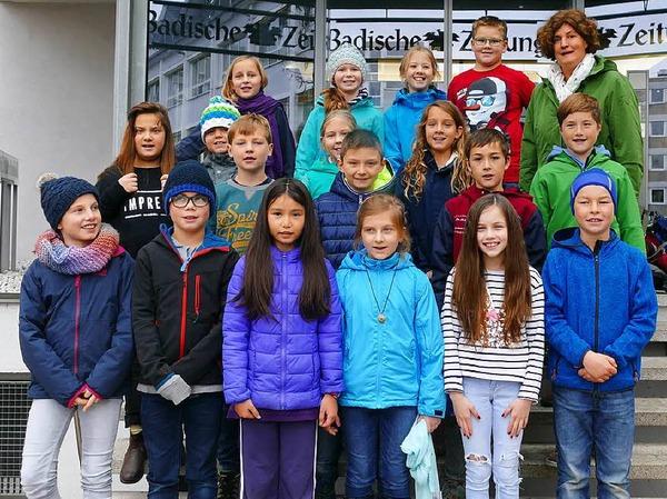 Klasse 4 der Michaelschule in Oberried