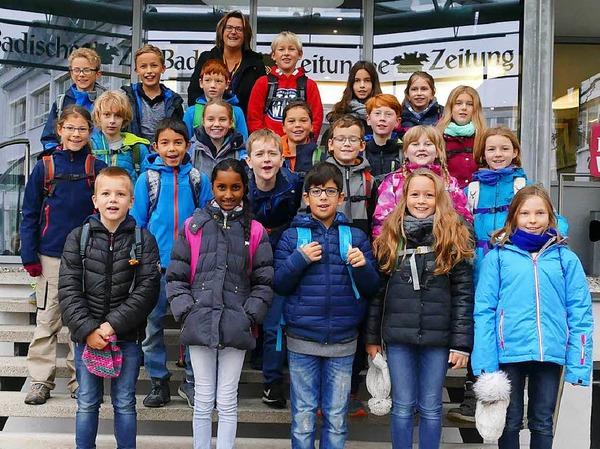 Klasse 4d der Grundschule in Denzlingen