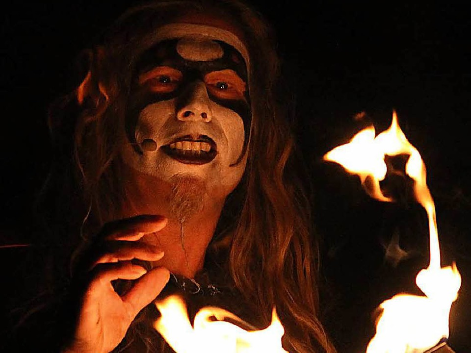 Verkörpert das Böse: Mephisto (Falko Illing)  | Foto: Manthey Event GmbH