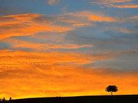 Wie entstehen Morgenrot und Abendrot?