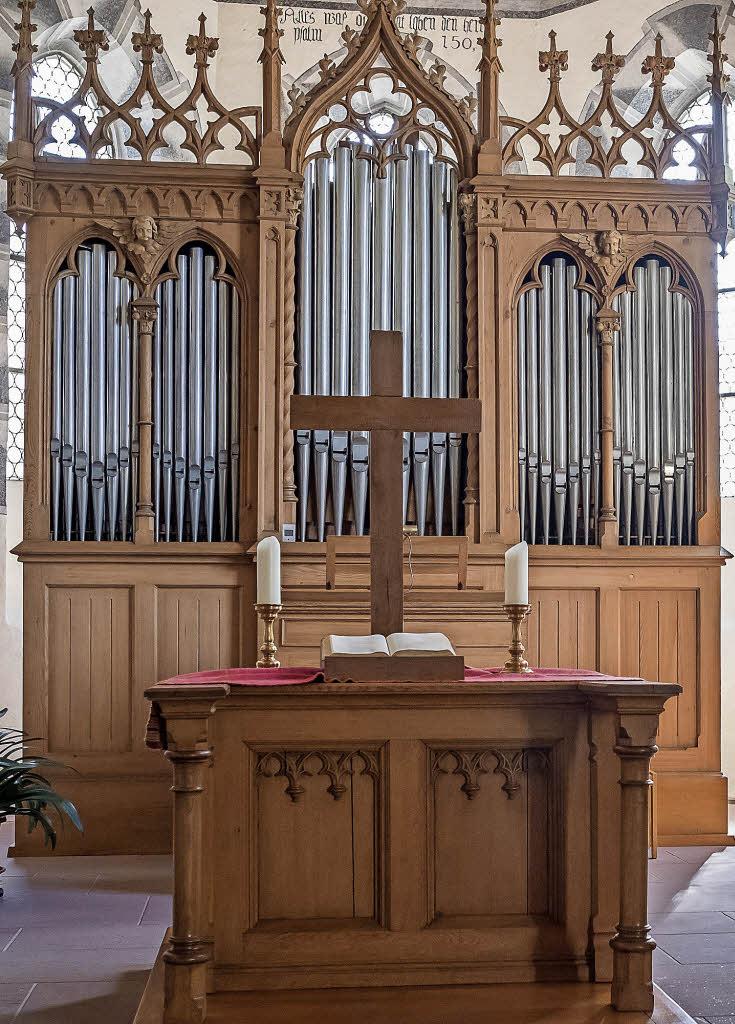 tlinger orgel klingt zu weihnachten weil am rhein. Black Bedroom Furniture Sets. Home Design Ideas