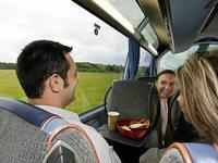Warum wird mir übel, wenn ich im Bus nach hinten gucke?