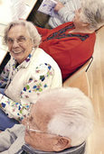 Ein Nachmittag mit den Senioren