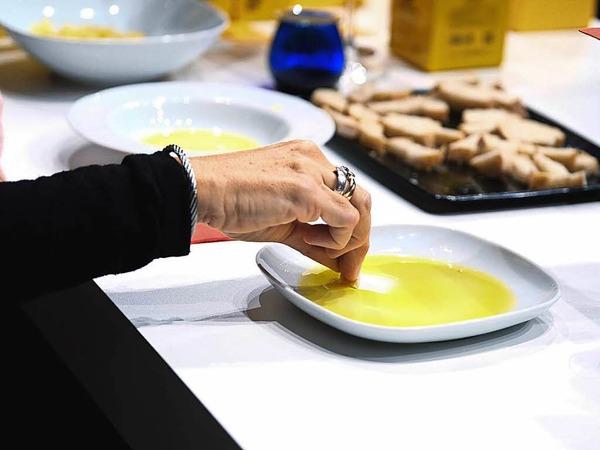Die Genussmesse Plaza Culinaria in Freiburg bietet kulinarische Köstlichkeiten.