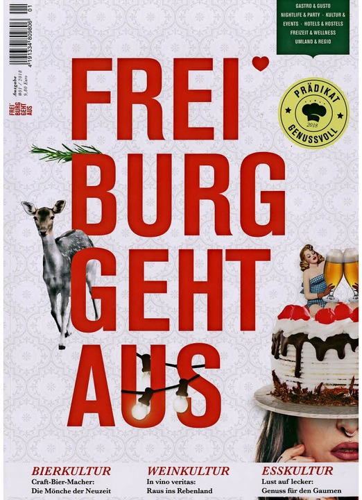 Cover Freiburg geht aus (Scan)  | Foto: Scan