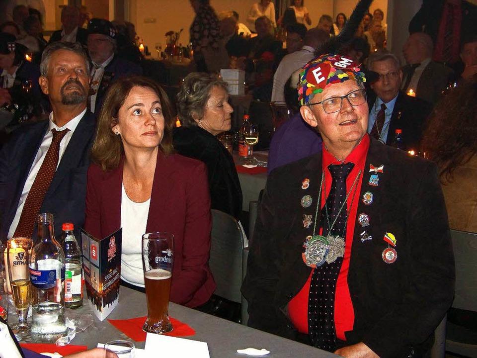 Besuch von der SPD: Bundesministerin K...d Ulrich von Kirchenbach (r.) im Bild.  | Foto: Hans Sigmund