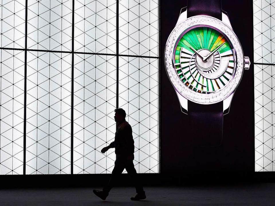 Die Ausstellungsfläche der Basel World wird um ein Drittel verkleinert.  | Foto: AFP