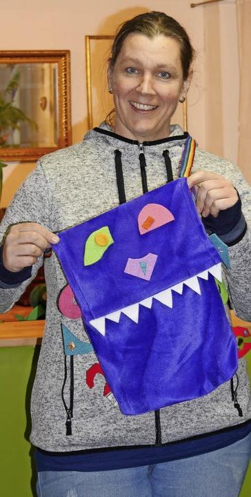 Spaß hatten die Kinder beim Monstertas...n Kindertheater in der Stadtbücherei.     Foto: Marion Rank