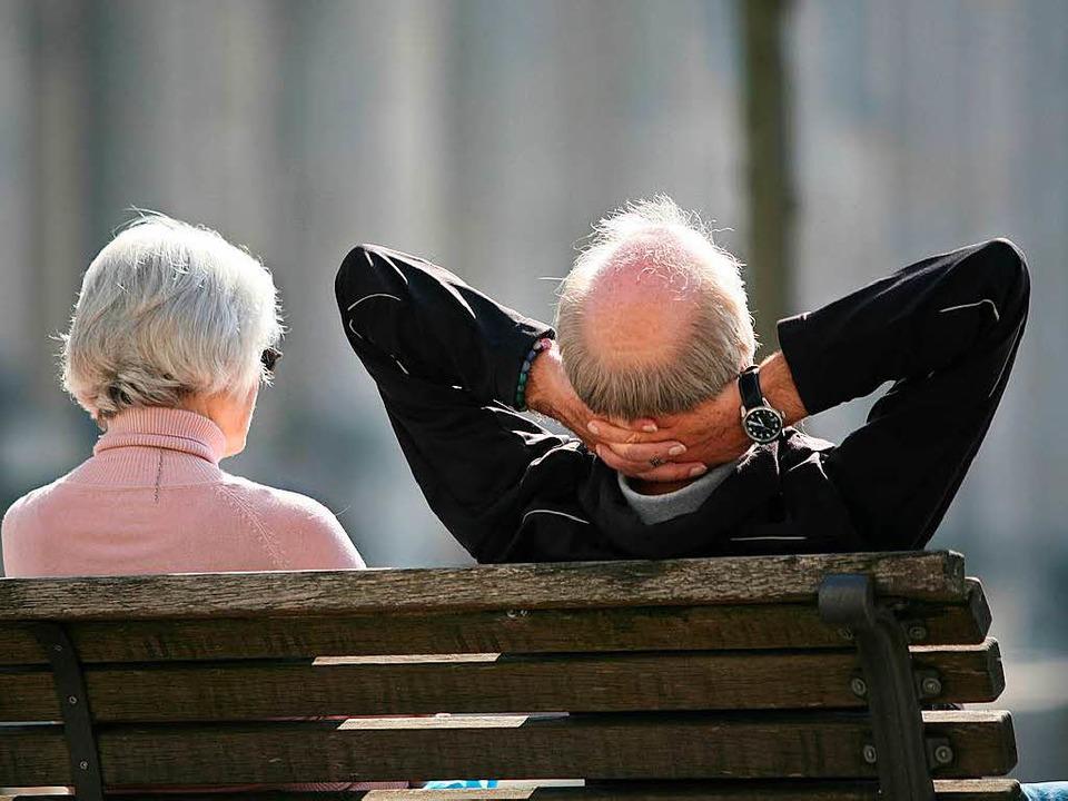 Wie stehen die Chancen auf eine Rentenreform?  | Foto: dpa