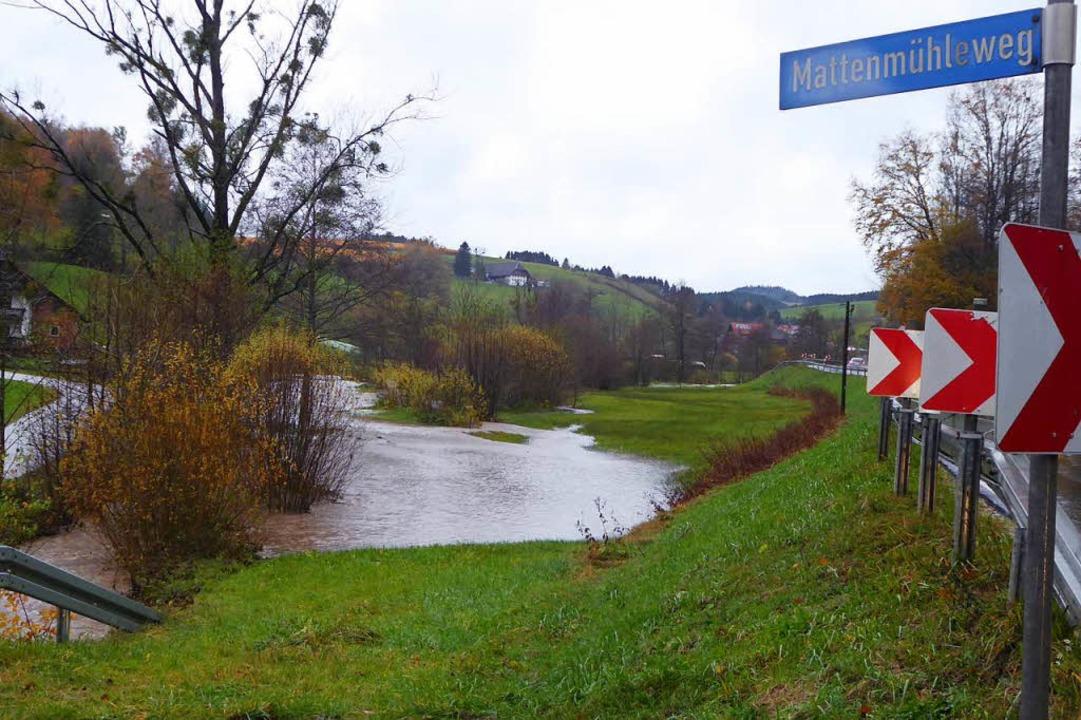 Hochwasser in der Frischnau  | Foto: Roland Gutjahr
