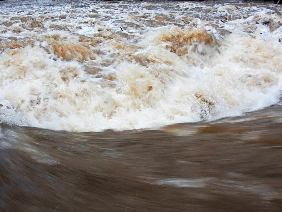 Reißende Ströme in Winden  | Foto: Markus Häringer