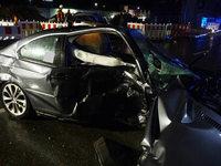 Unfall mit neun Verletzten: Verursacher wollte vor Polizei flüchten