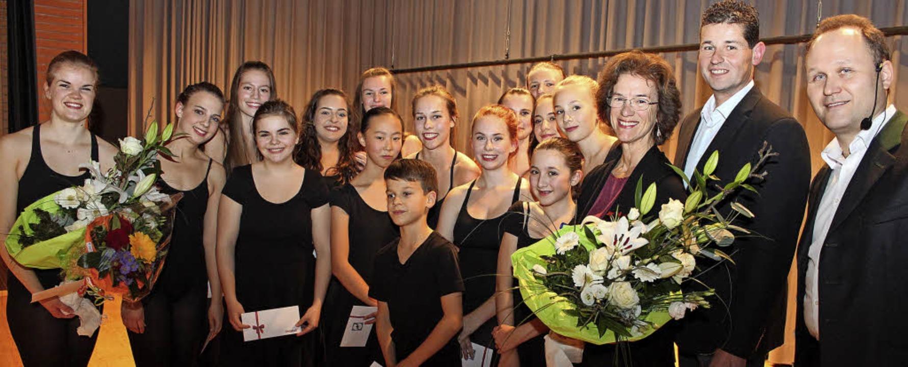 Beim interkommunalen Wirtschaftstreff ...all für das Moira-Fettermann-Ballett.   | Foto: mario schöneberg