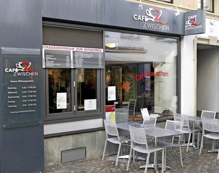 Die Caritas will das Café Zwischen, in...Bad Säckingen Ende November schließen.  | Foto: Martin Köpfer