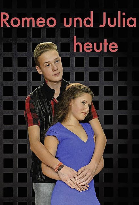 Die Hauptdarsteller:Amelie Börsig als Julia und Alexander Rummel als Romeo.   | Foto: Hansjörg Haaser
