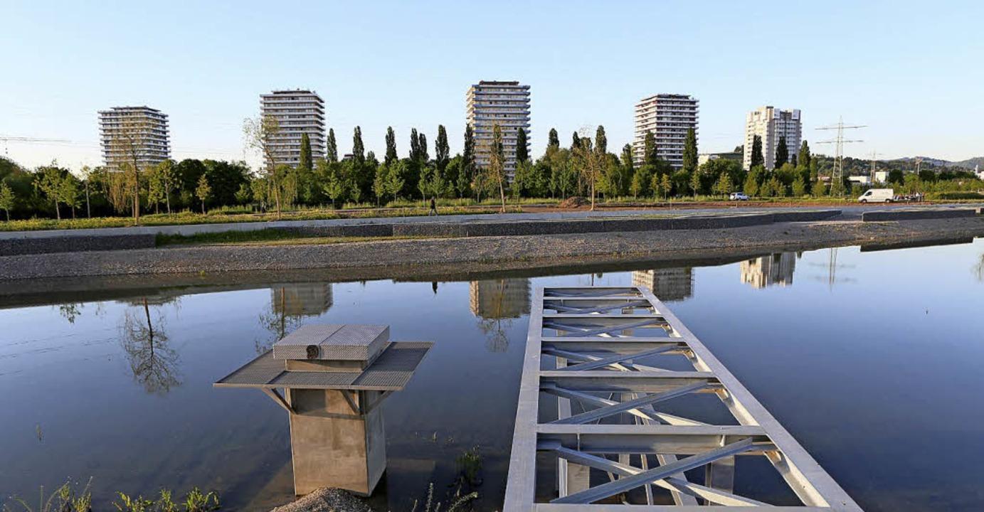 Die Befüllung des Sees läuft nicht wie geplant.  | Foto: CHRISTOPH BREITHAUPT