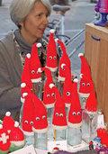 Wichtel und Nikolaus in der Einkaufinsel