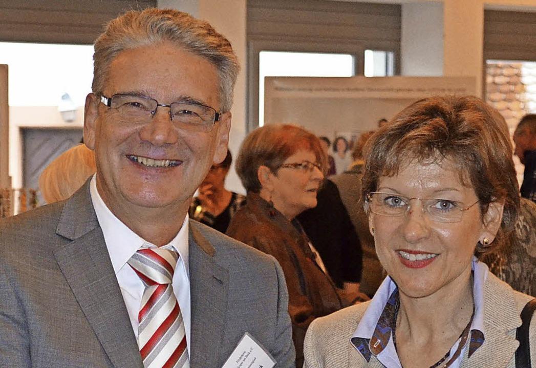 Vorsitzender Klauspeter Huck konnte Sc...ann bei der 15-Jahres-Feier begrüßen.   | Foto: Britta Wieschenkämper