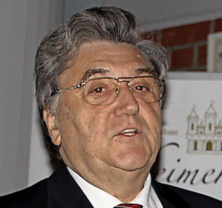 Dr. Erwin Grom    Foto: Trogus