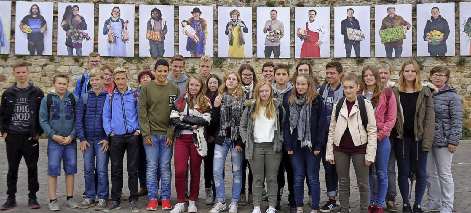 Viele vergnügte Stunden im Zeichen des...chen beim Schüleraustausch in Bellême.  | Foto: Jutta Binner-Schwarz