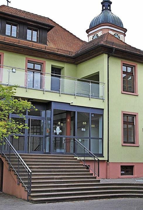 Die kleinste Schule: Die einzügige Gru...lt 79 Schüler, davon  23 Erstklässler.  | Foto: Manfred Frietsch