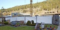 Neue Friedhofsmauer