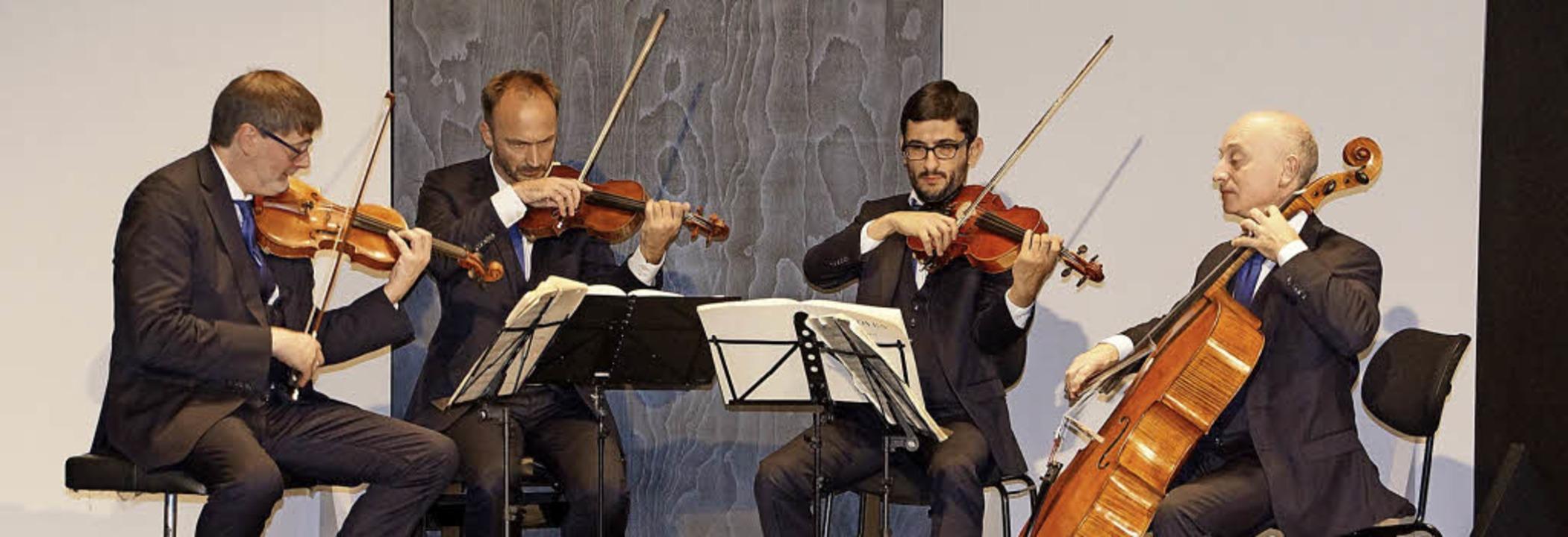 Das Quatuor Danel bei den Musiktagen Badenweiler  | Foto: badenweiler Thermen und touristik