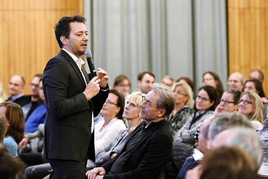 Gereon Jörn beim BZ-Wissensforum (Foto: Thomas Kunz)