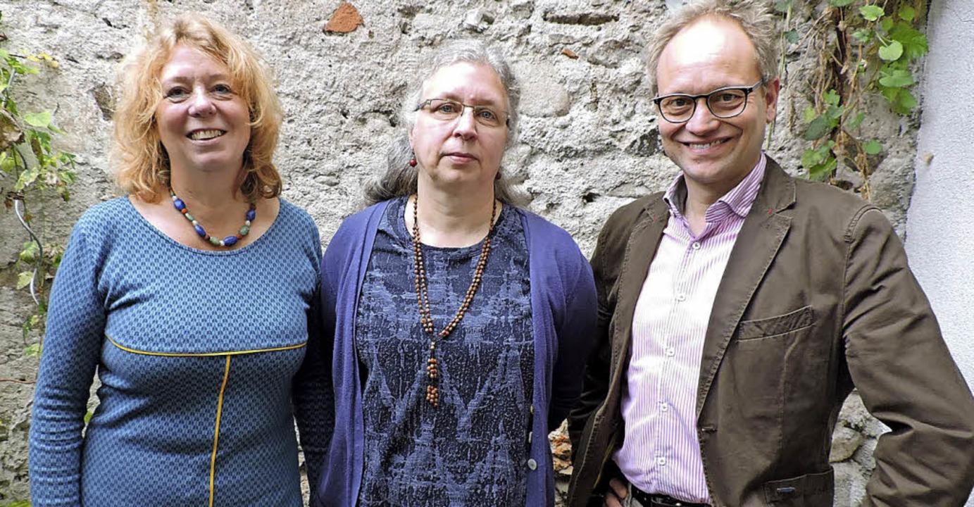 Caritasgeschäftsführer Rainer Leweling... Caritas-Sozialdienstes (von rechts).   | Foto: Sylvia Sredniawa