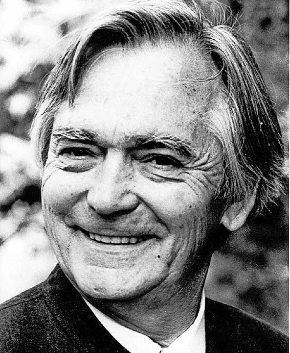 Gerhard Jung (1926 – 1998)  | Foto: Hebelbund Lörrach