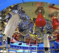 """Das Raumschiff """"Orion"""" soll den Mondschatten erkunden"""