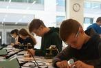 Zischup-Aktionstag im Schullabor Experio Roche in Kaiseraugst