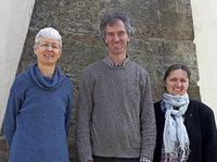 Ines Then-Bergh, Jörn Bartelt und Maria-Luise Leihenseder-Ewald in Emmendingen