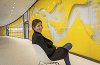 Schirin Kretschmann realisiert Kunst-am-Bau-Projekt im Freiburger Rathaus