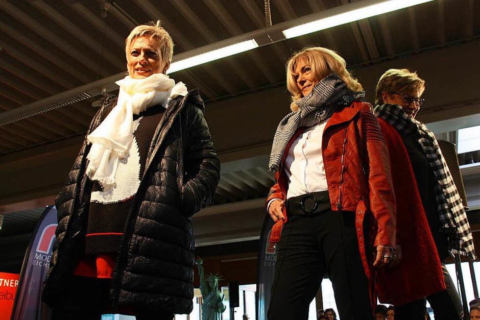 Immer ein Höhepunkt beim Bahlinger Wintermarkt: die Modenschauen (Foto: Christiane Franz)