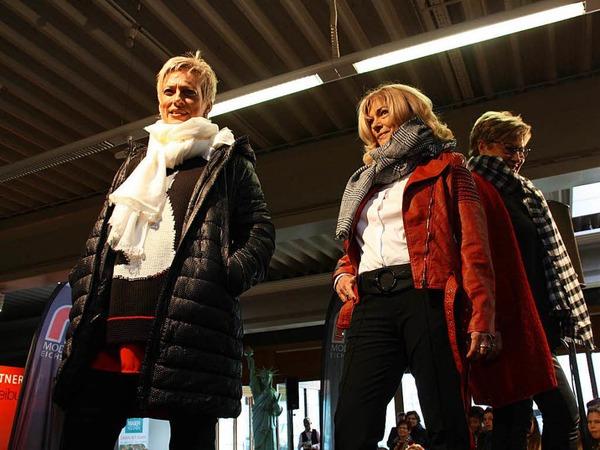 Immer ein Höhepunkt beim Bahlinger Wintermarkt: die Modenschauen