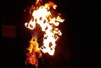Fotos: Schlössle in Flammen auf Burg Werrach